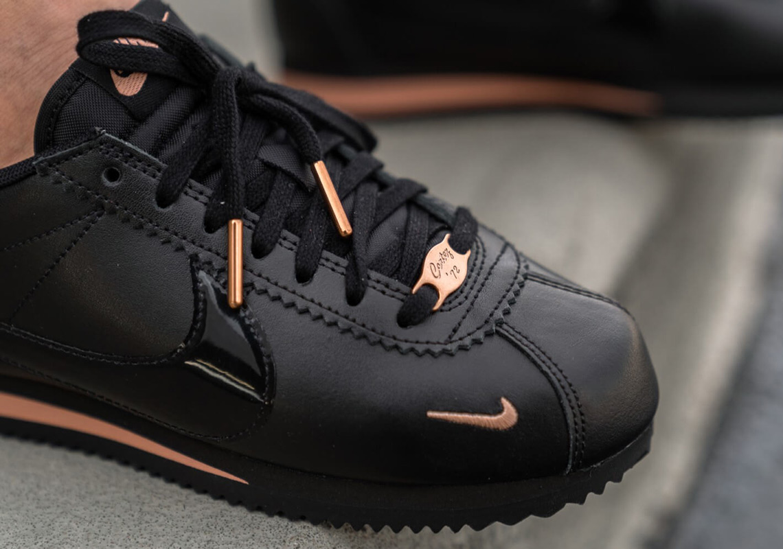 Nike Cortez 905614-010 Black + Gold Release Info  4483ea45b