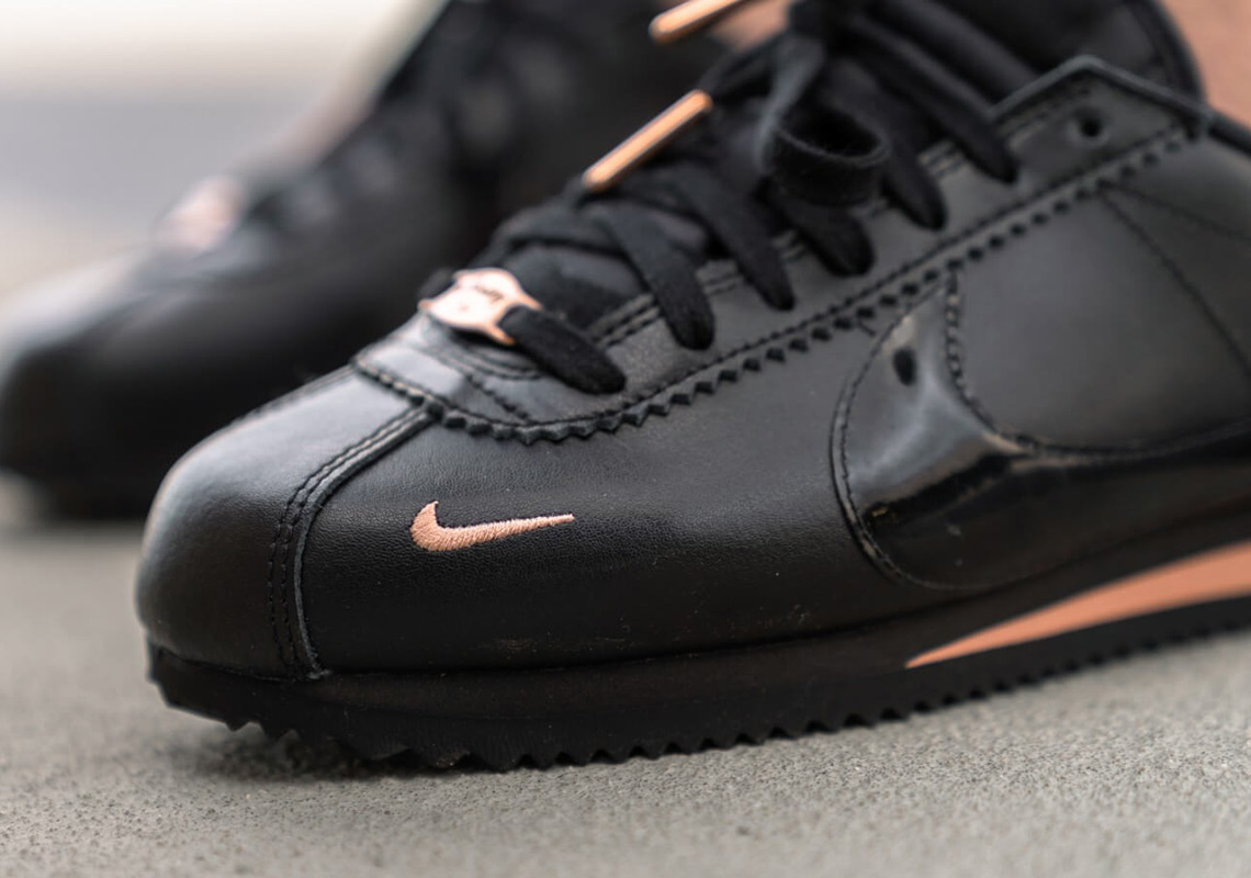 452a6a0ba02db Nike Cortez 905614-010 Black + Gold Release Info | SneakerNews.com