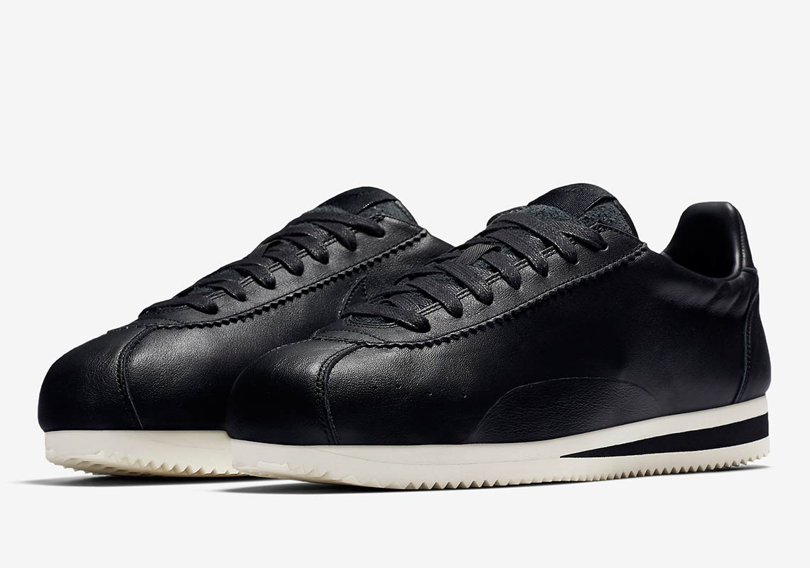 sports shoes c813d 35ebe Nike Cortez Swooshless Black + White Buying Guide ...