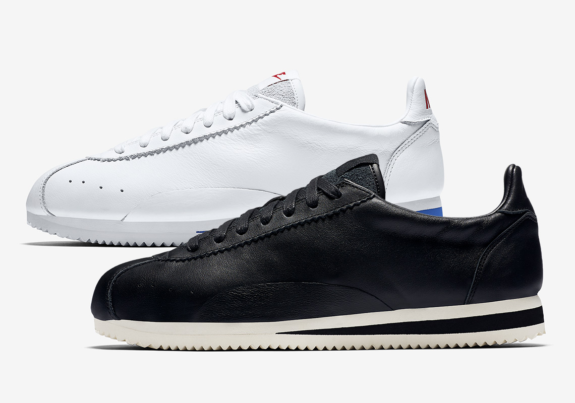 sports shoes 507f1 dfa2a Nike Cortez Swooshless Black + White Buying Guide ...