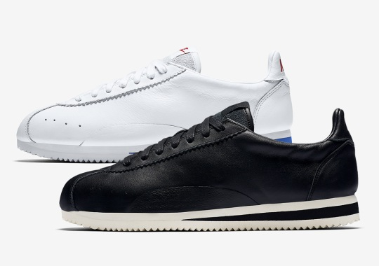 new concept 07abf 1b980 The Nike Cortez Goes Swooshless