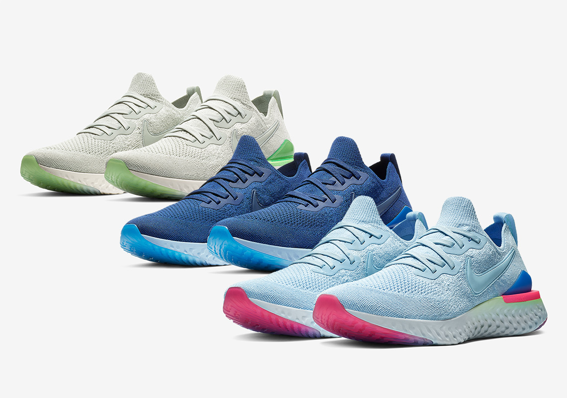 3715327bd6a2 Here Are All The Nike Epic React Flyknit 2 Releases For January