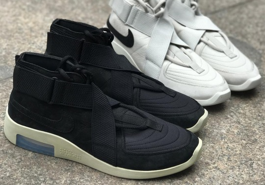 The Nike Air Fear Of God 180 Will Release In Black And Light Bone