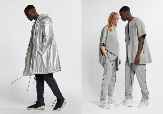 Here's A Look At The Fear Of God x Nike Apparel Dropping Soon