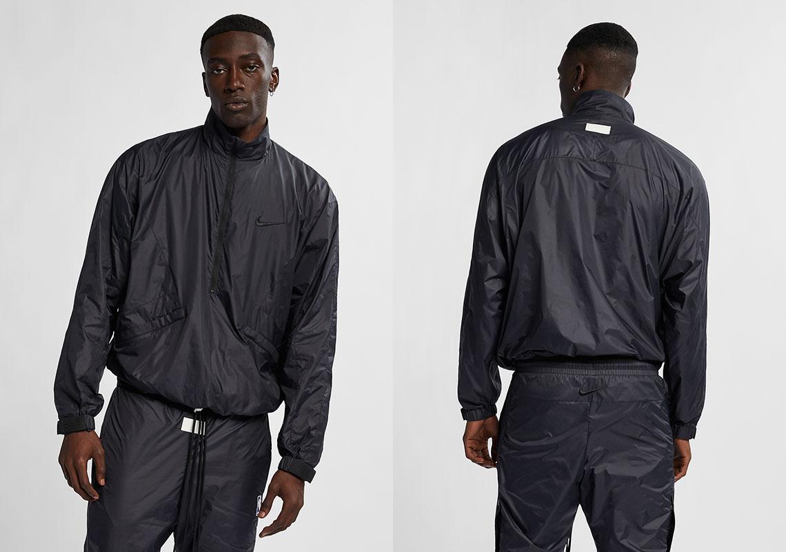 bafa16924 Nike x Fear Of God 1/2 Zip Jacket Release Date: January 19, 2019 $275.  Color: Black