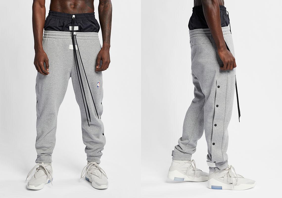 57ae3adbe Nike x Fear Of God Tear-Away Pants Release Date: January 19, 2019 $260.  Color: Black
