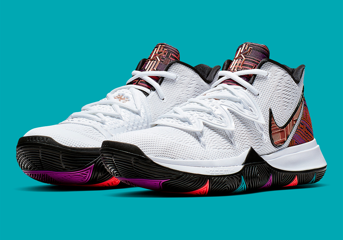 hot sale online fa6fe e7086 Nike Kyrie 5 BHM Black History Month Store List