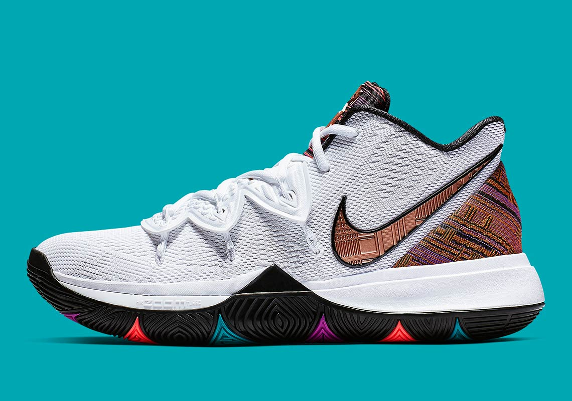 Nike Kyrie 5 Bhm Black History Month Store List Sneakernewscom