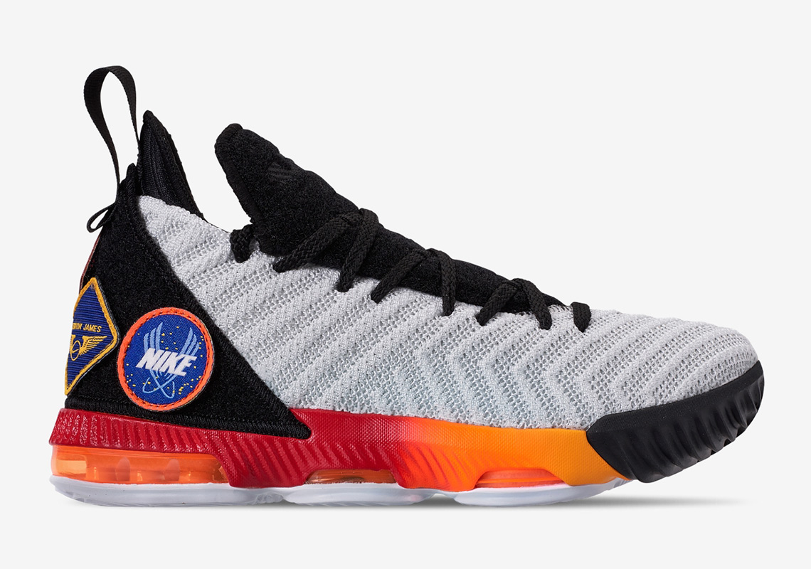 Nike LeBron 16 Kids AQ2465-188 Release