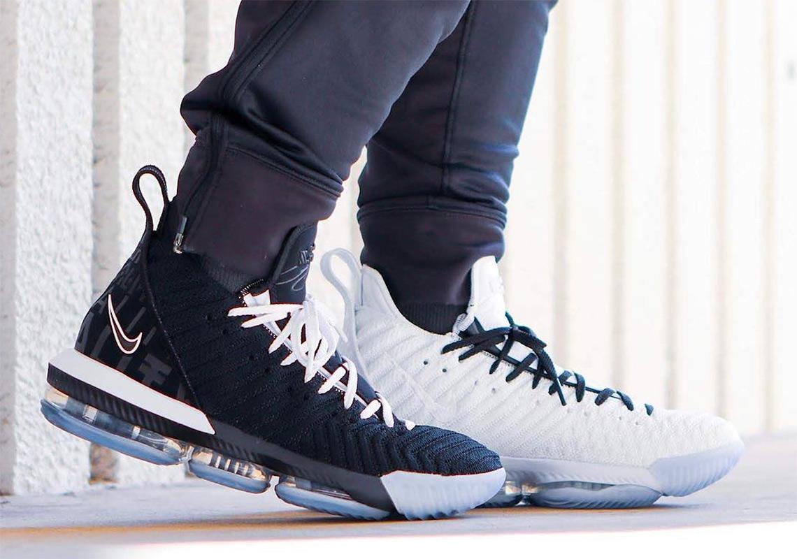 5bd8b3aa2fb Nike LeBron 16 Equality Pack BQ5969-100 + BQ5969-101