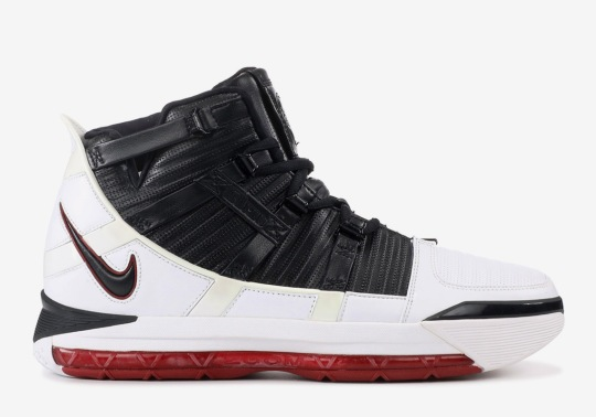 "Is Nike Releasing The LeBron 3 In The Original ""Home"" Colorway?"