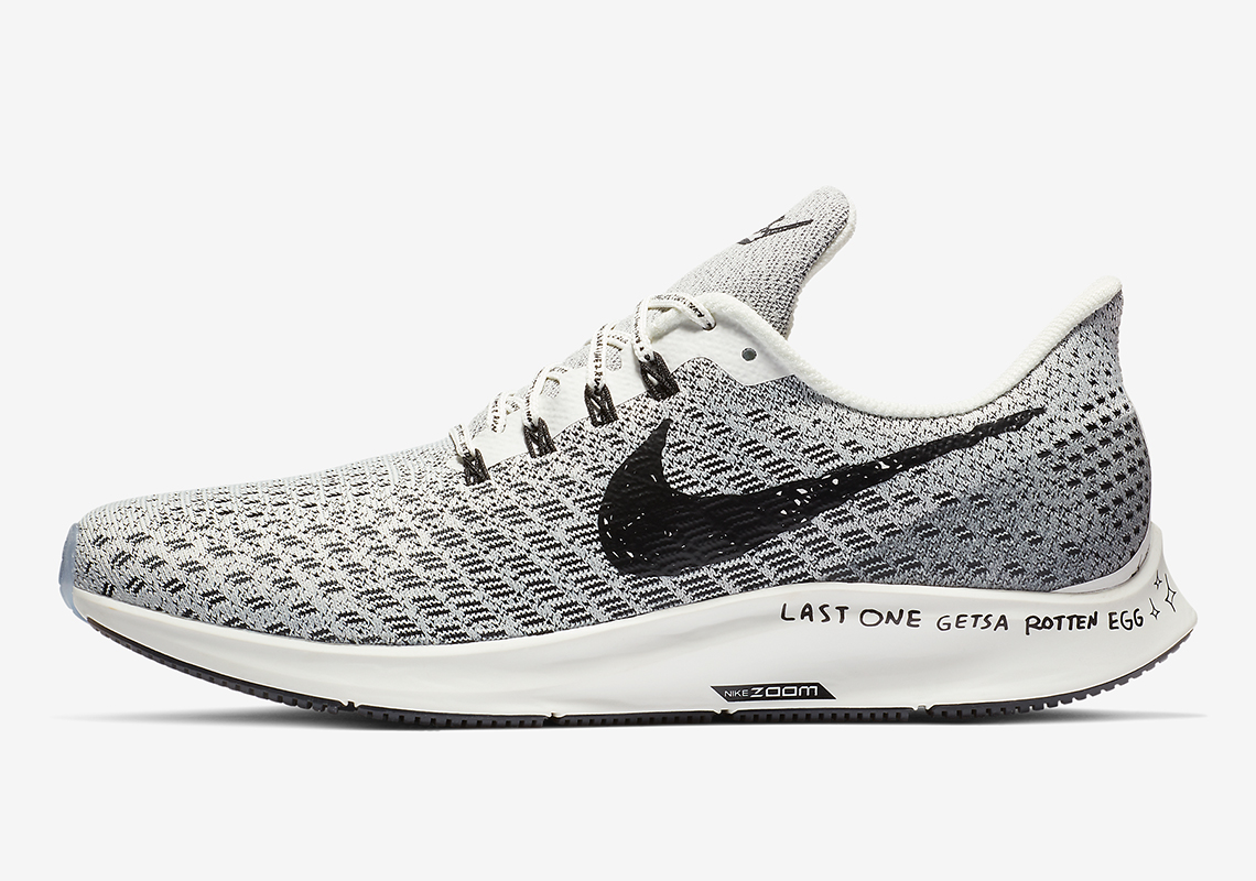 849d6d6e7ba This Nike Pegasus 35 Features A Playful Message On The Sole