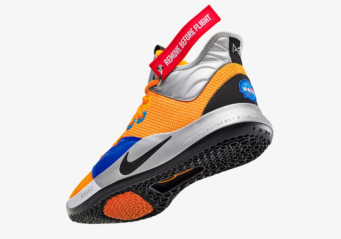 "premium selection ee59c a6662 Where To Buy The Nike PG 3 ""NASA"""