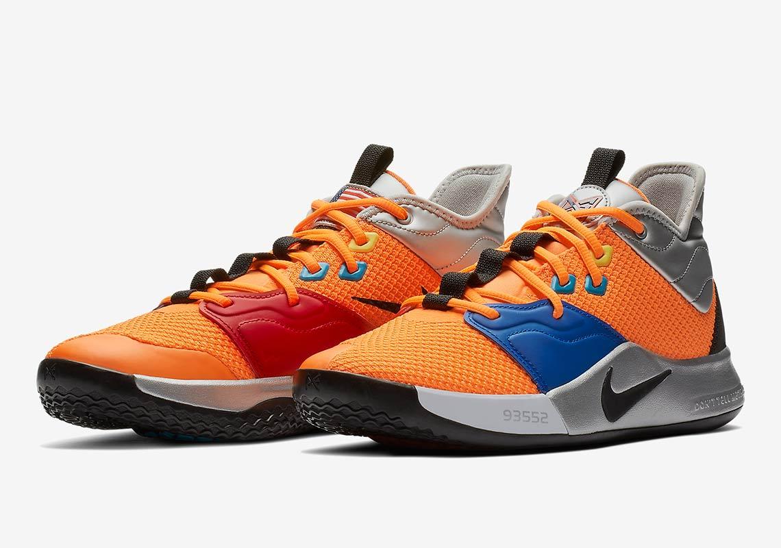 620691bd1413 Nike PG 3 NASA CI2666-800 Store List Buying Guide