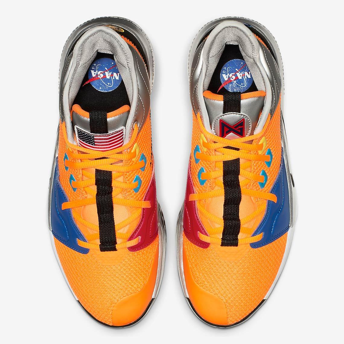 7eed2c5e7b50 Nike PG 3 NASA CI2666-800 Store List Buying Guide