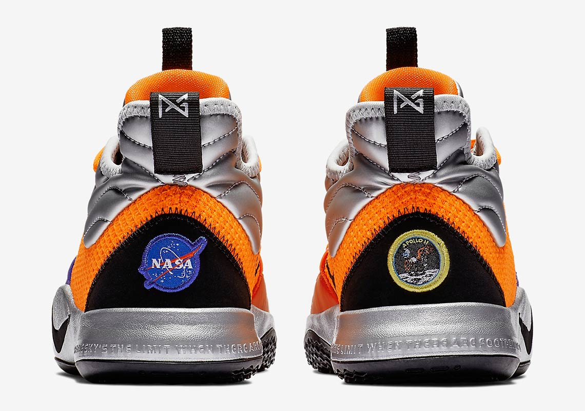 PG3 NASA Nike Shoes - Official Release