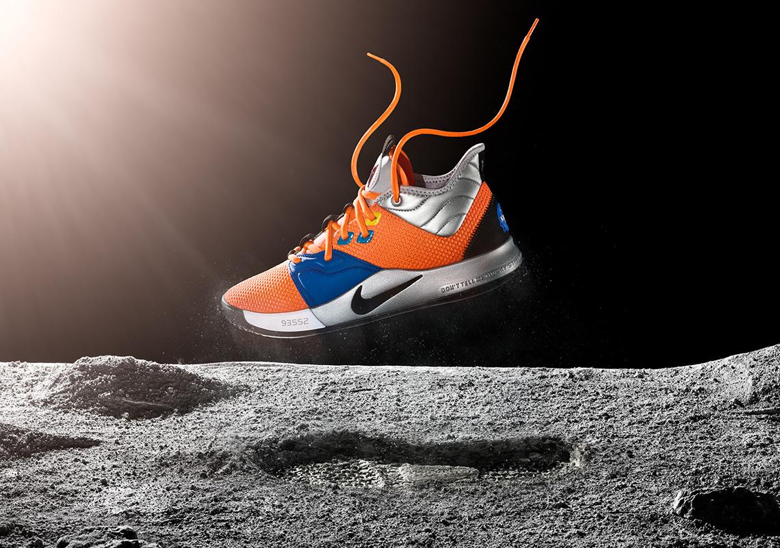 Nike PG 3 Paul George NASA Shoes