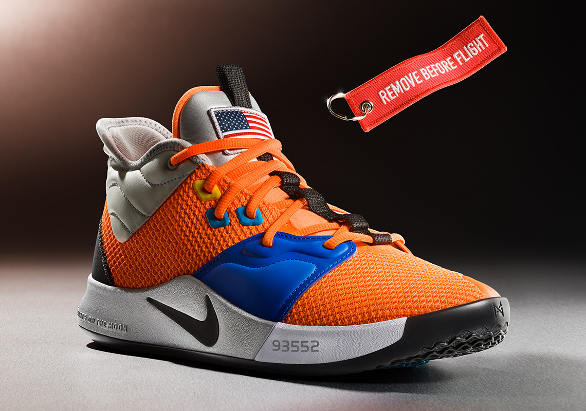 Nike PG 3 Paul George NASA Shoes