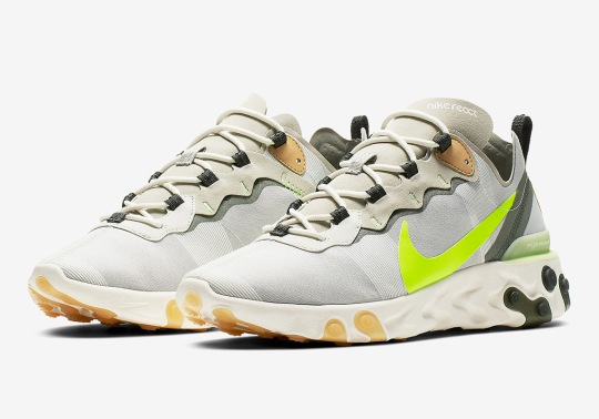 Nike Adds Volt Swoosh Logos The The React Element 55