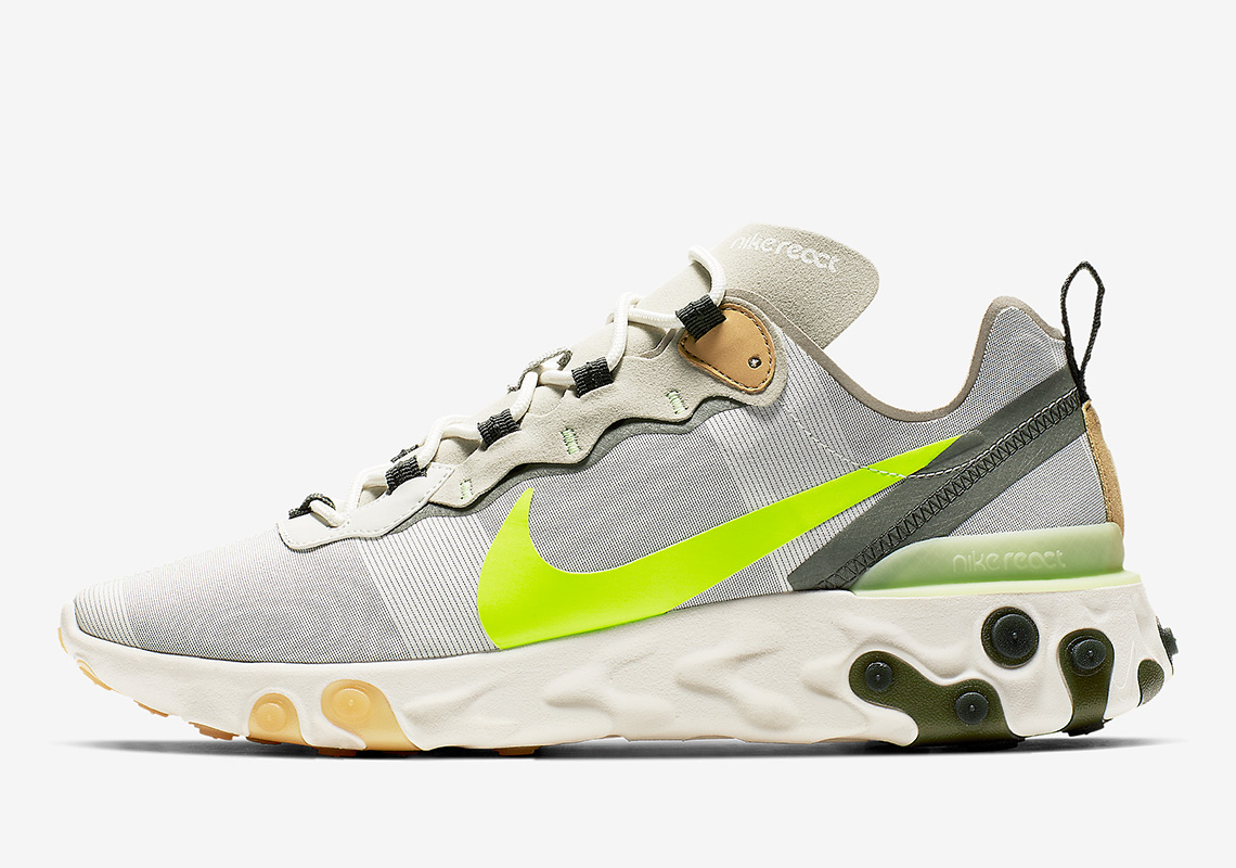 purchase cheap b80fd 98153 Nike React Element 55. Release Date February, 2019