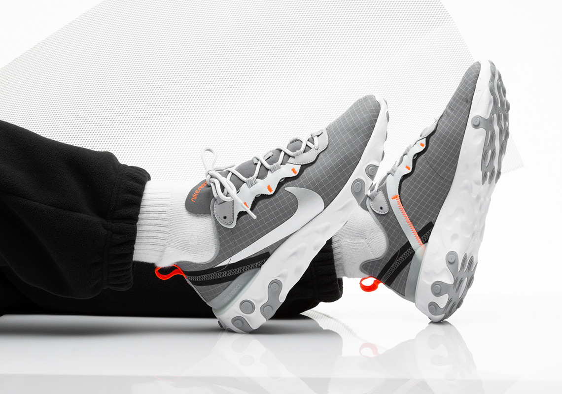 "official photos d0dbf 39c0c Where To Buy The Nike React Element 55 ""Grid Pack"""