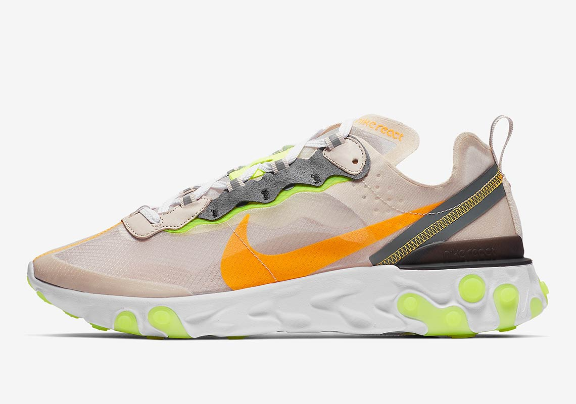 "203e03e96df0 Where To Buy The Nike React Element 87 ""Light Orewood"""