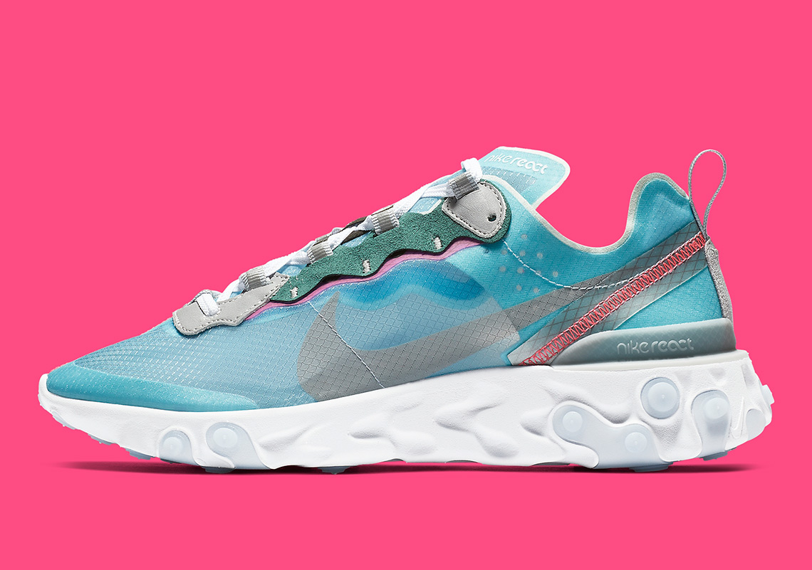 """100% authentic 66113 11aff The Nike React Element 87 """"Royal Tint"""" Is Arriving February 15th"""
