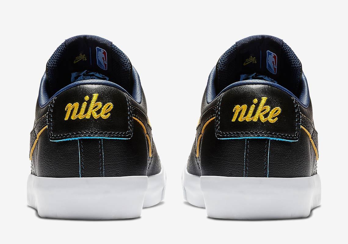 2054db079202 NBA Nike SB Blazer Warriors BQ6389-001 Info