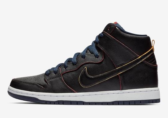 More NBA x Nike SB Releases Are Coming, Like This Cavs-Inspired Dunk High