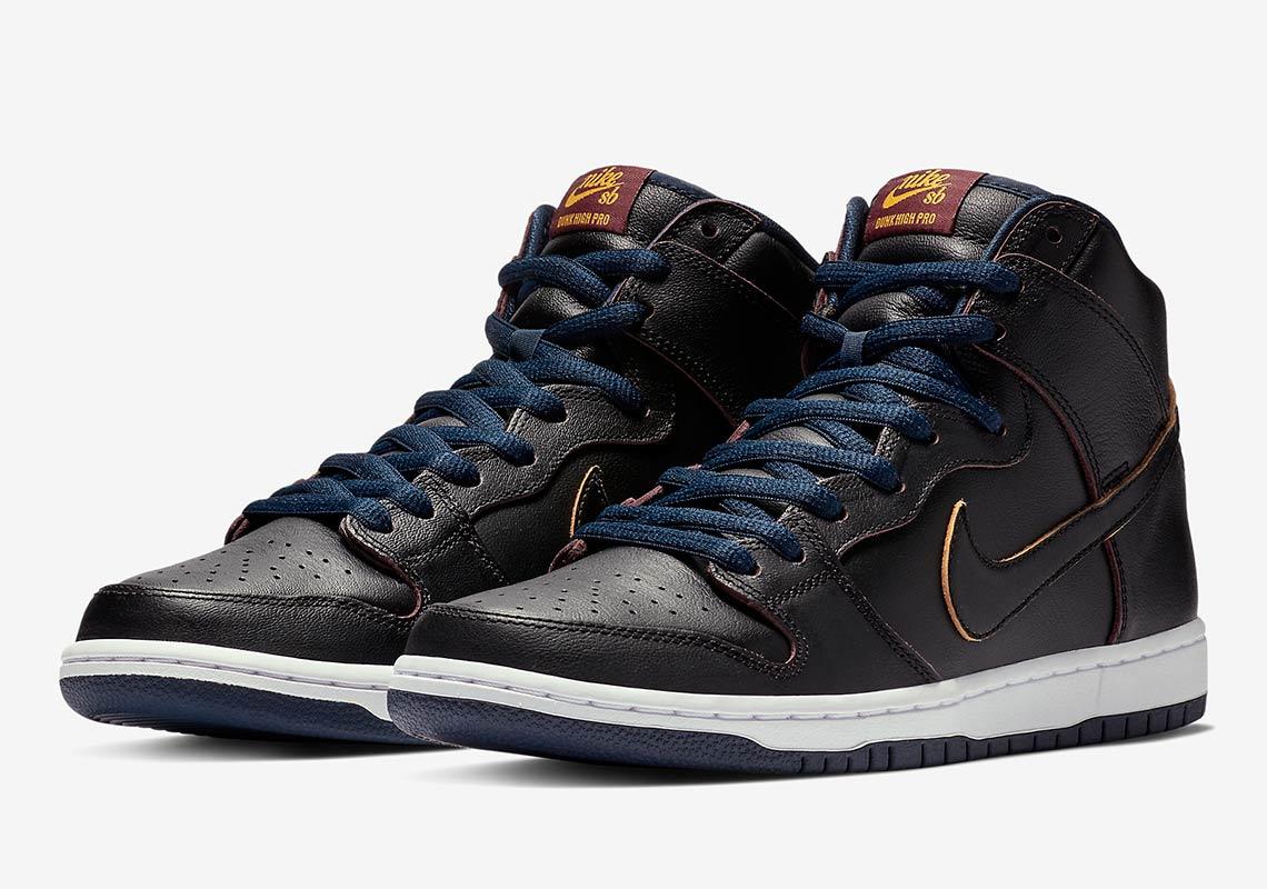 NBA Nike SB Dunk High Cavs Release Info | SneakerNews.com