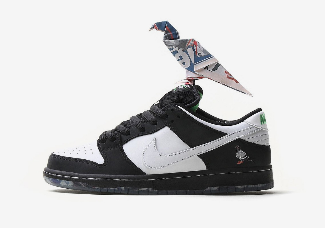 "4ab7d885ea4b1 Store List For The Nike SB Dunk Low ""Panda Pigeon"""