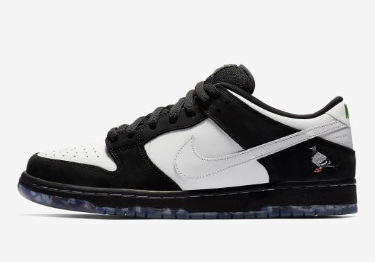 "Where To Buy The Nike SB Dunk Low ""Panda Pigeon"""