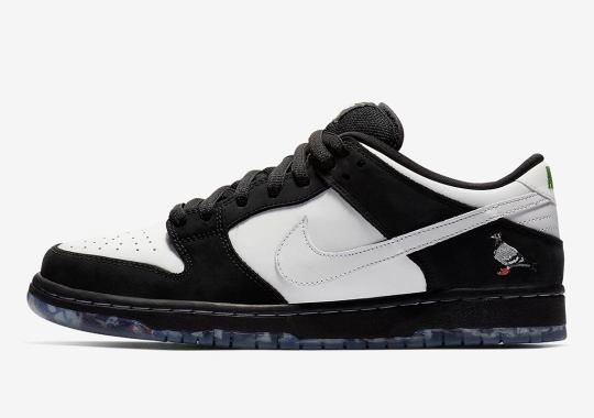 "Where To Buy The Nike SB Dunk Low ""Panda Pigeon"""