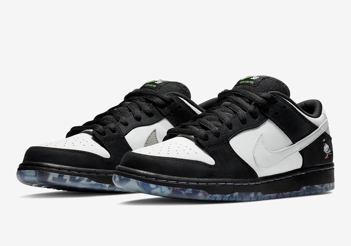 antiguo Pila de sostén  Nike SB Dunk Panda Pigeon by Staple - Store List | SneakerNews.com