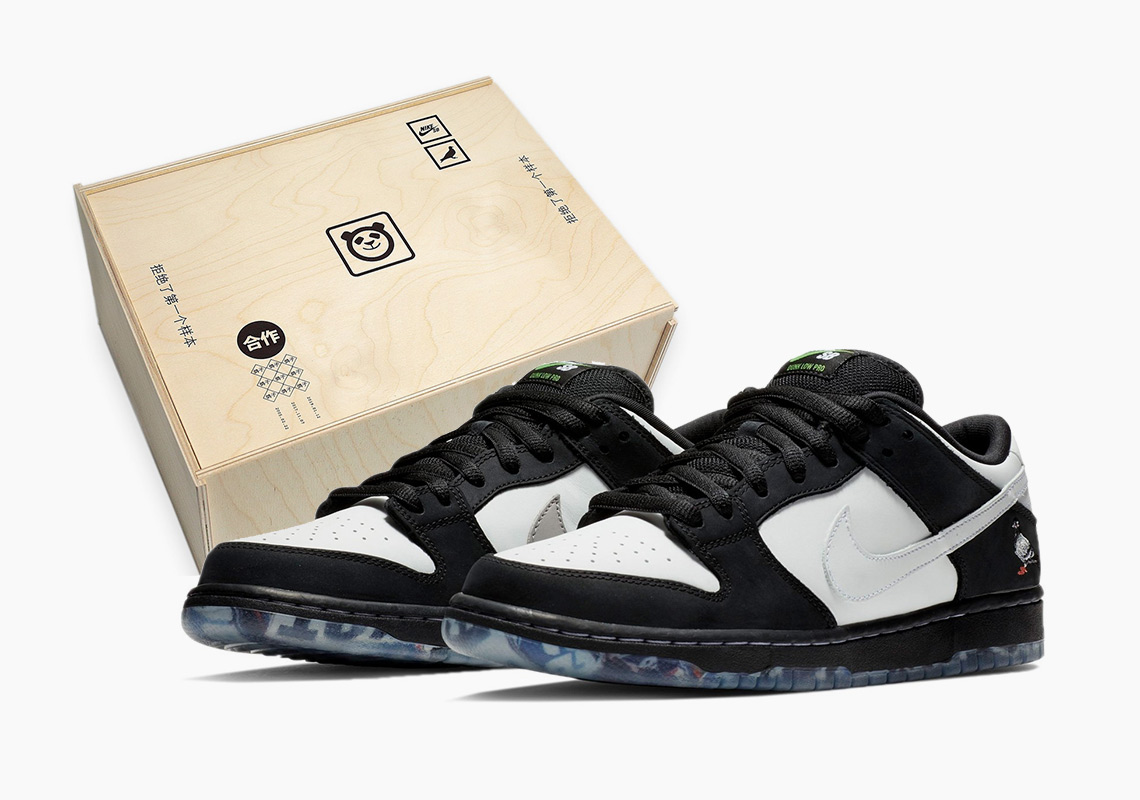 "Extra Butter To Release Nike SB Dunk ""Panda Pigeon"" In Special Wooden Box  Packaging ce9a3782b"