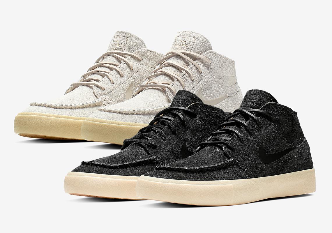 23406b30d71b Nike Janoski Mid Crafted AQ7460-001 + AQ7460-200