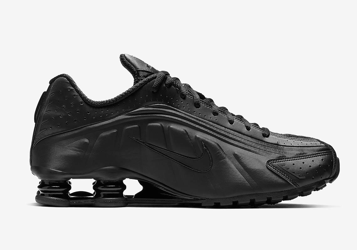 4974505cc0ac Nike Shox R4 All Black BV1111-001 Release Info