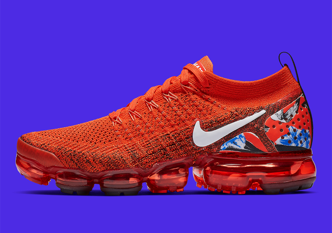 5398a27fd9d6f3 Nike Adds Graphic Heel Patterns On The Vapormax Flyknit 2.0