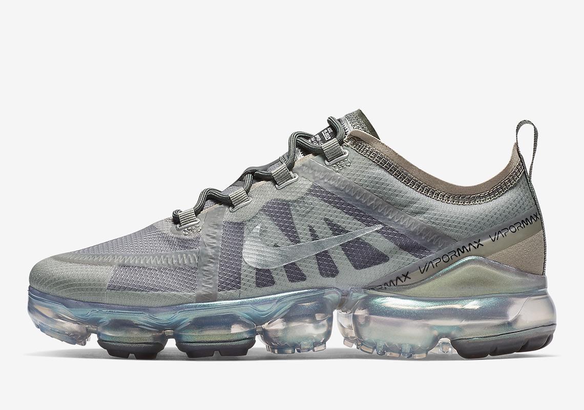 Nike Damen Sneaker Air VaporMax 2019 beige