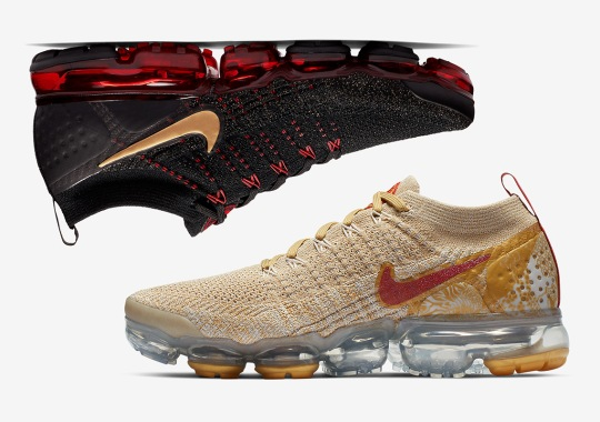 "The Nike Vapormax Flyknit 2.0 ""Year Of The Pig"" Is Coming Soon"
