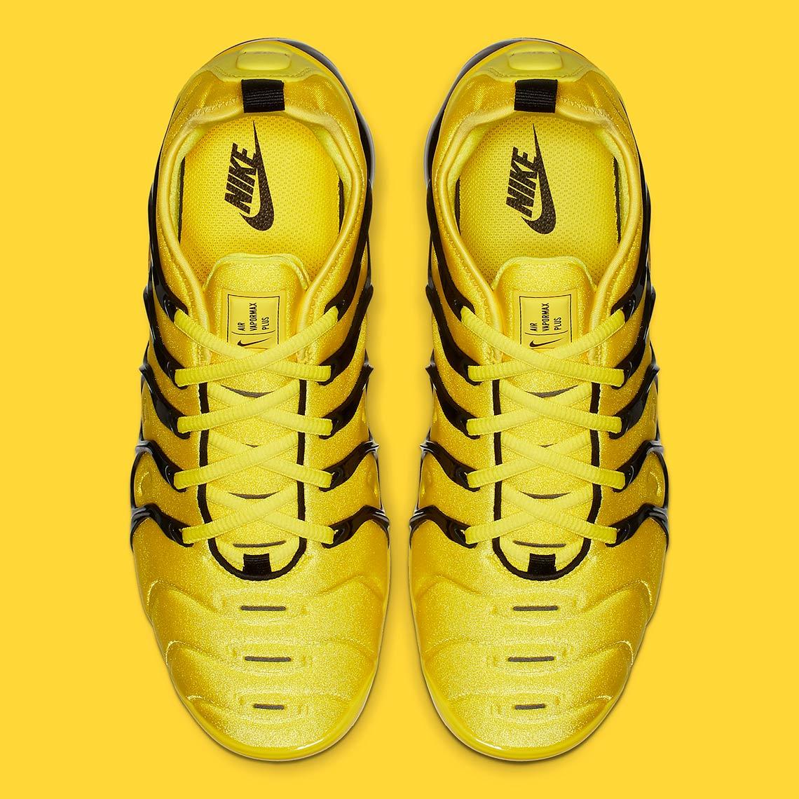 2cc5aeb13b69a4 Nike Vapormax Plus Yellow Black BV6079-700 Info