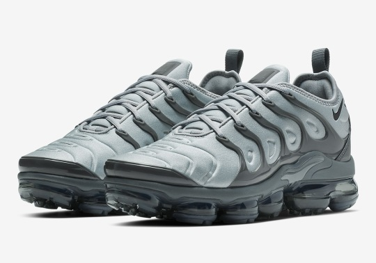 "Nike Vapormax Plus ""Wolf Grey"" Drops On February 1st"