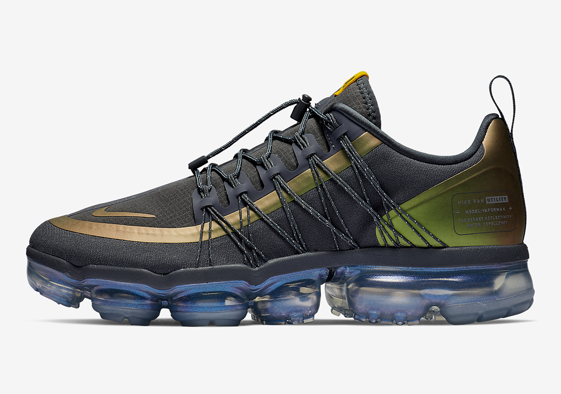 ee32c5ea0fa1 This Nike Vapormax Run Utility Features Color-Shifting Yellow Uppers
