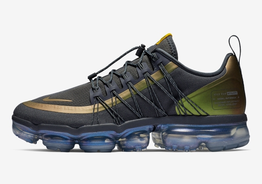 93eb22e8e8153 This Nike Vapormax Run Utility Features Color-Shifting Yellow Uppers