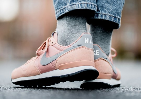 The Nike Internationalist Is Back In Rose Gold Suede