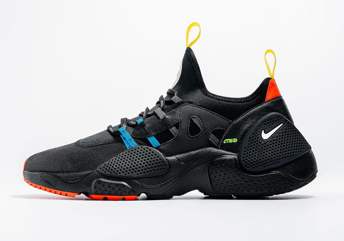 the latest eeea8 8c78f Heron Preston Nike Huarache EDGE Release Info   SneakerNews.com