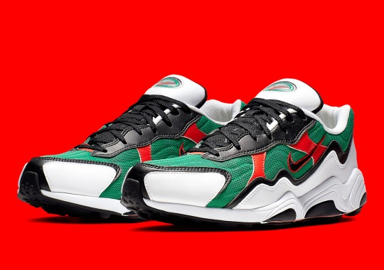 The Nike Zoom Alpha Is Coming Soon In Lucid Green/Habanero Red