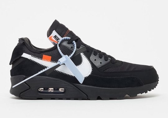 893c56d9 Where To Buy The Off-White x Nike Air Max 90 In Black