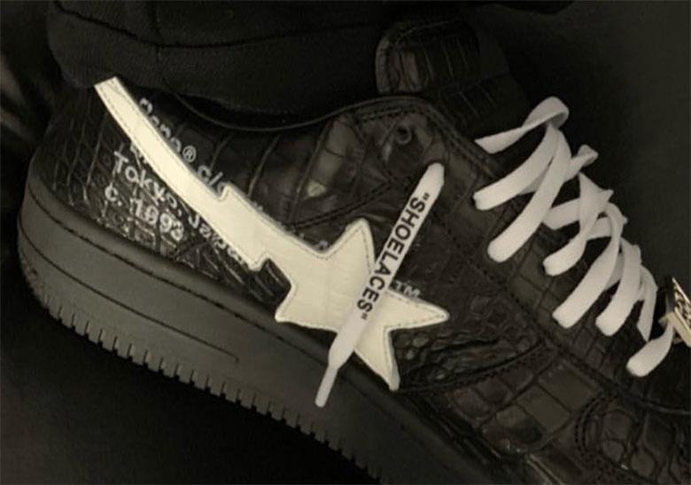 745af639300e Off-White Bape Bapesta Shoes Virgil Abloh Paris Fashion Week ...