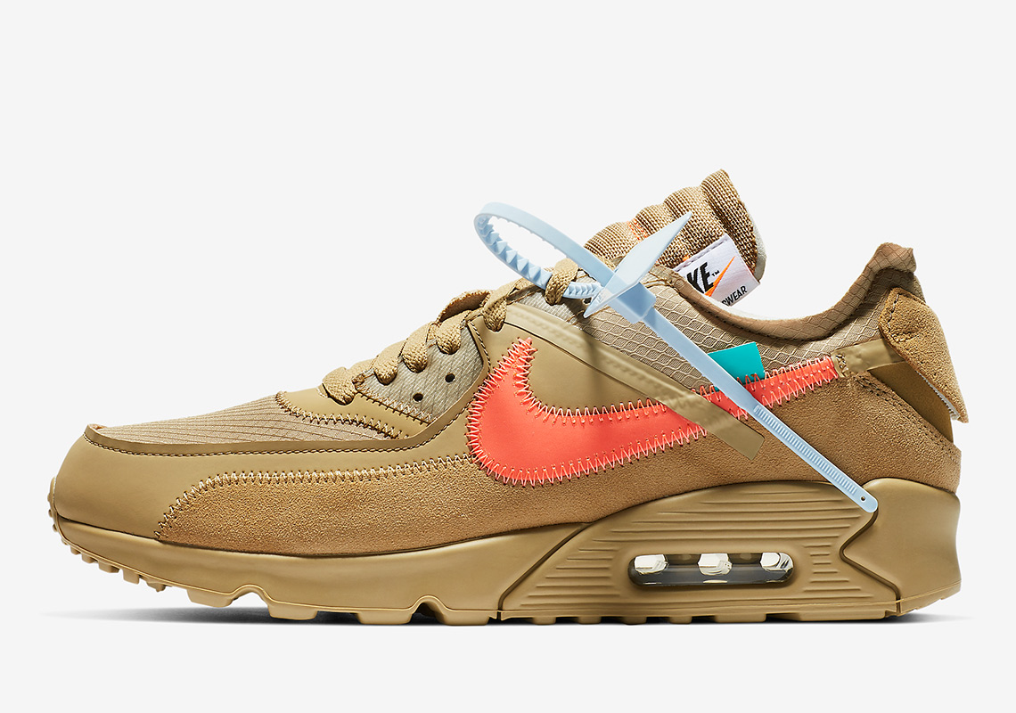 Your Best On Feet Look yet at the OFF WHITE x Nike Air Max 90